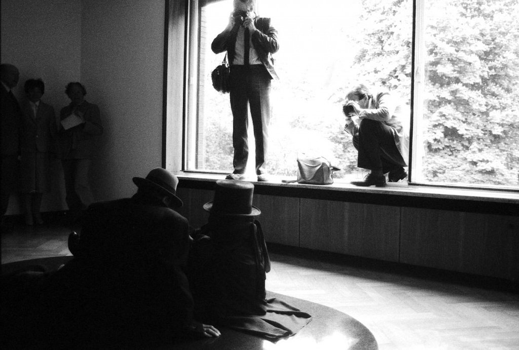 """Both"" - James Lee Byars und Joseph Beuys (6)"